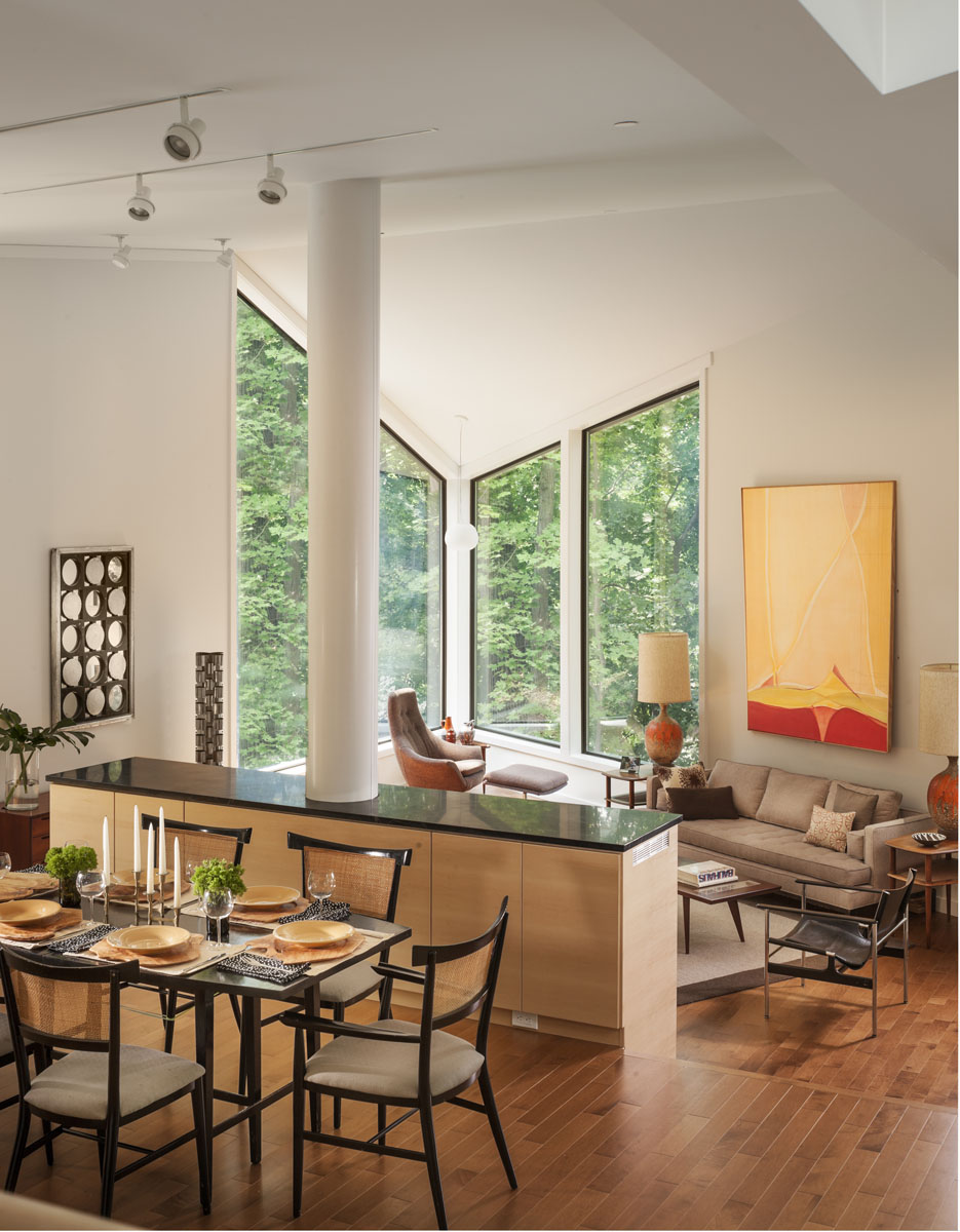 Living Room and Dining Room from Entry