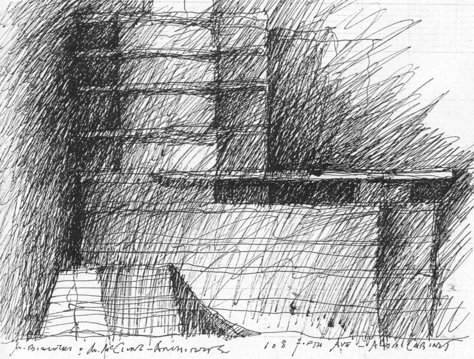 Cabinet Sketch