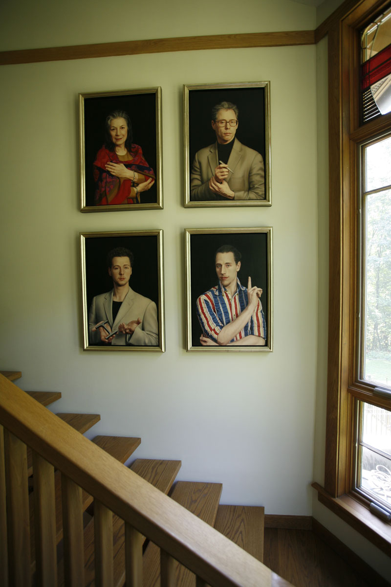 Stair Hall Portraits