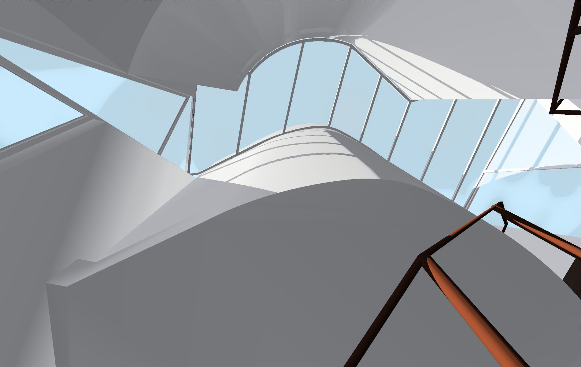 Matta Clark Fissure Skylight