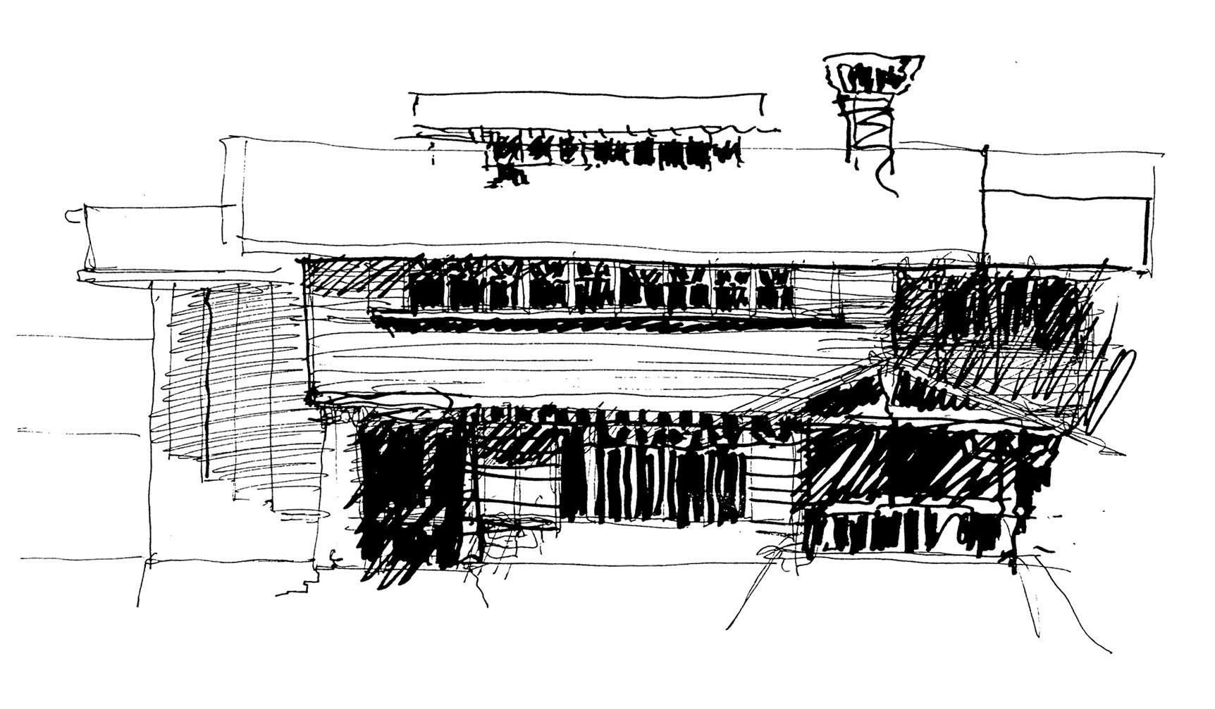 Study Sketch - Exterior