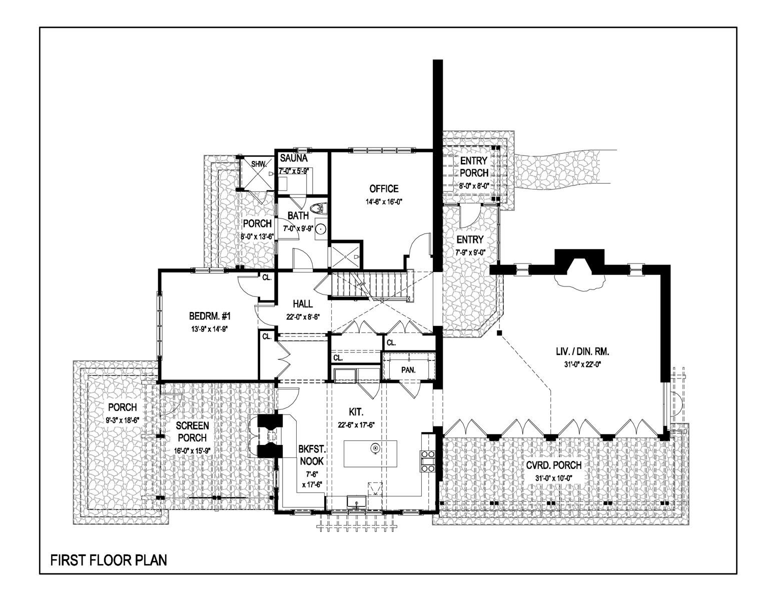 Knecht First Floor Plan