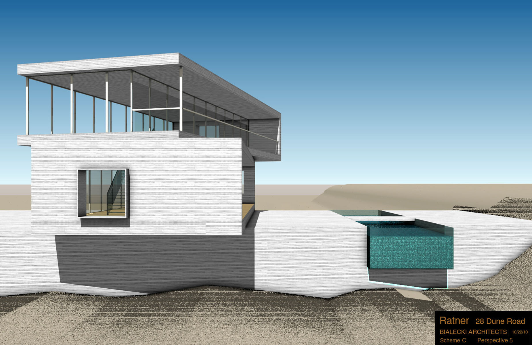 West Elevation Virtual Model