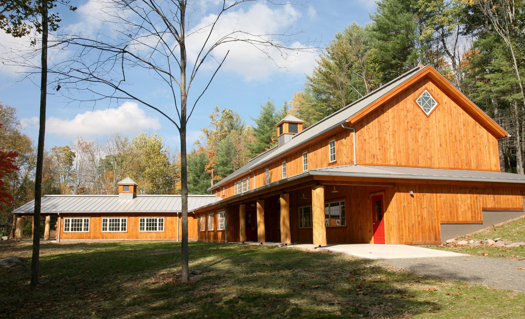 Esopus Lodge South Elevation