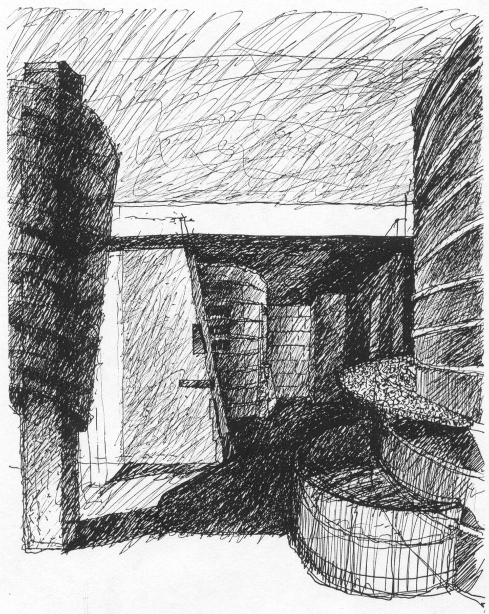 Hall Sketch