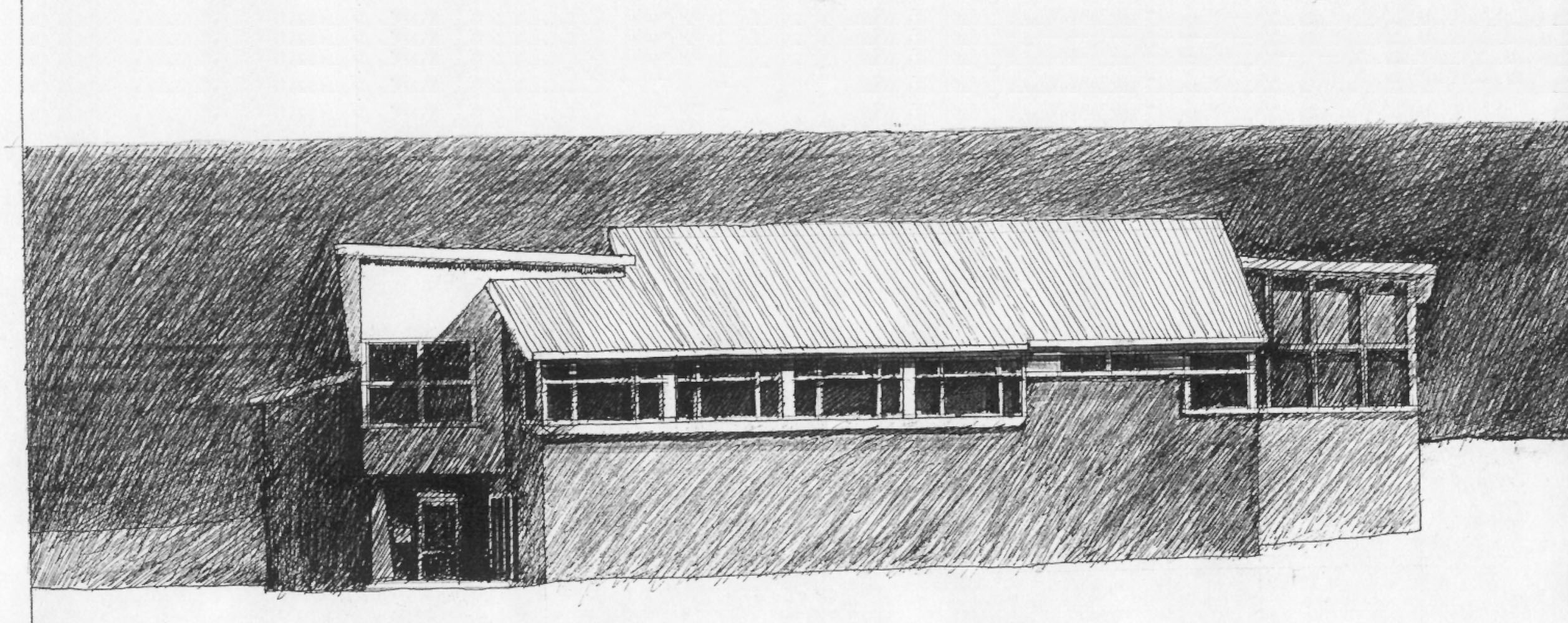West Elevation Sketch