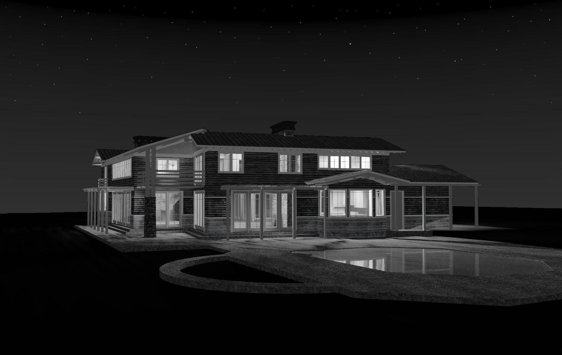 Model of Pool Terrace