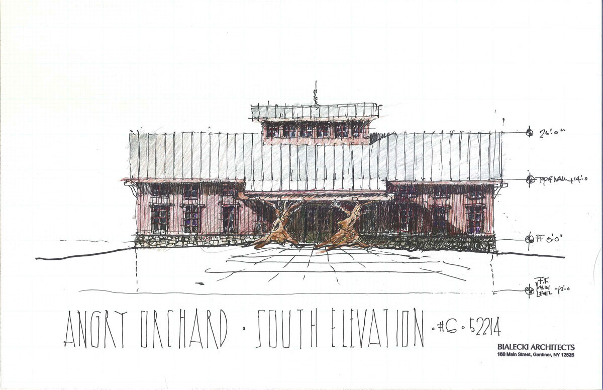 Front Elevation Concept Sketch