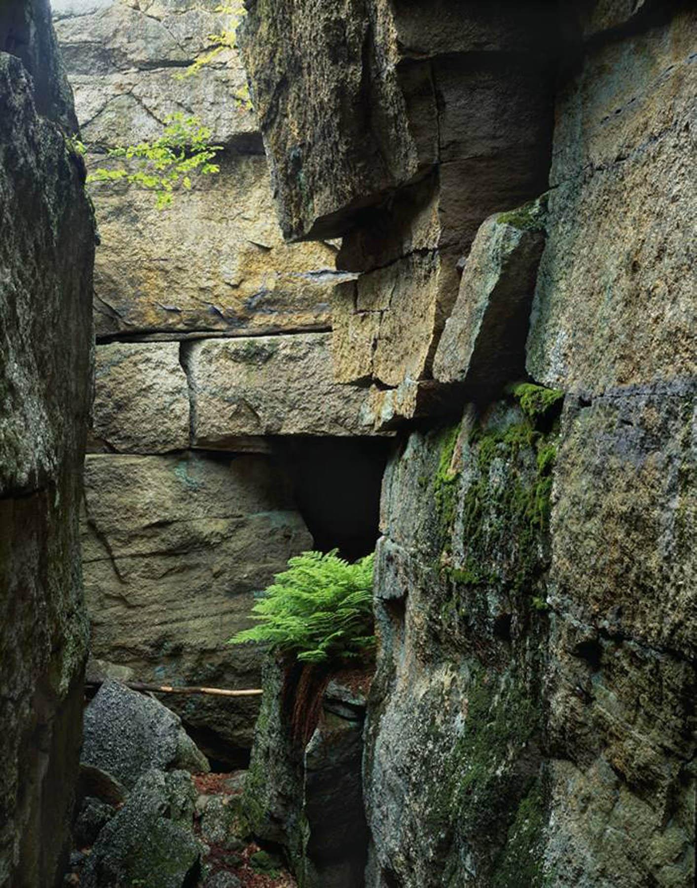 Sam's Point Ice Cave Crevasse